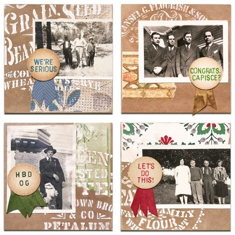 Cardmaking with Inspired Barn Stencils & Modeling Paste
