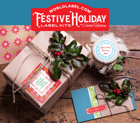 Free Festive Holiday Label Packs at WorldLabel.com