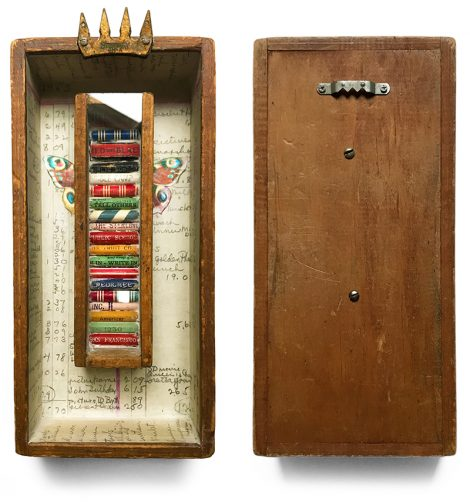 Assemblage Art Process: The Pencil Box Conservatory